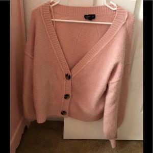 Topshop cardigan sweater